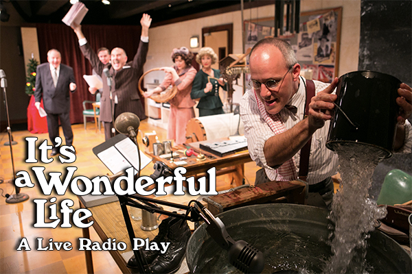 The Critics Love It 39 S A Wonderful Life A Live Radio Play Washington Stage Guild